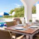 Covered terrace, Villa Bonita, Son Bou