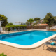 Shared pool, Sunset Suites apartments, Son Bou