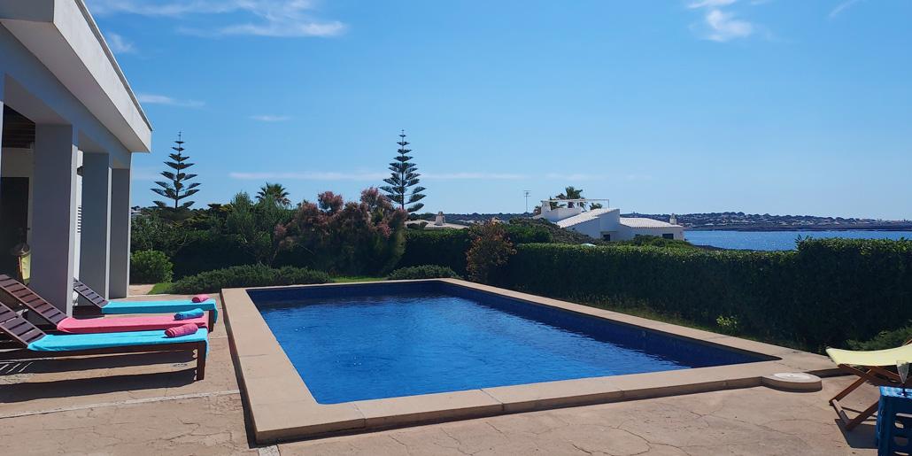 Private pool Villa Blau Mari Cap d'en Font