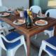 Outdoor dining Villa Blau Mari Cap d'en Font