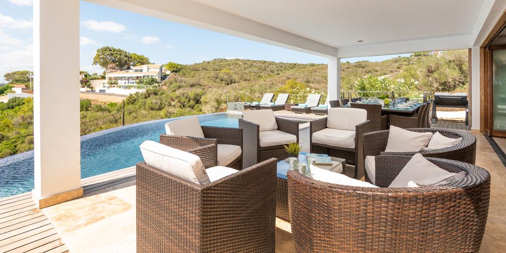 Covered terrace, VFW085 Cala Rata