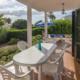 Covered terrace, Villa Eduard Binibeca