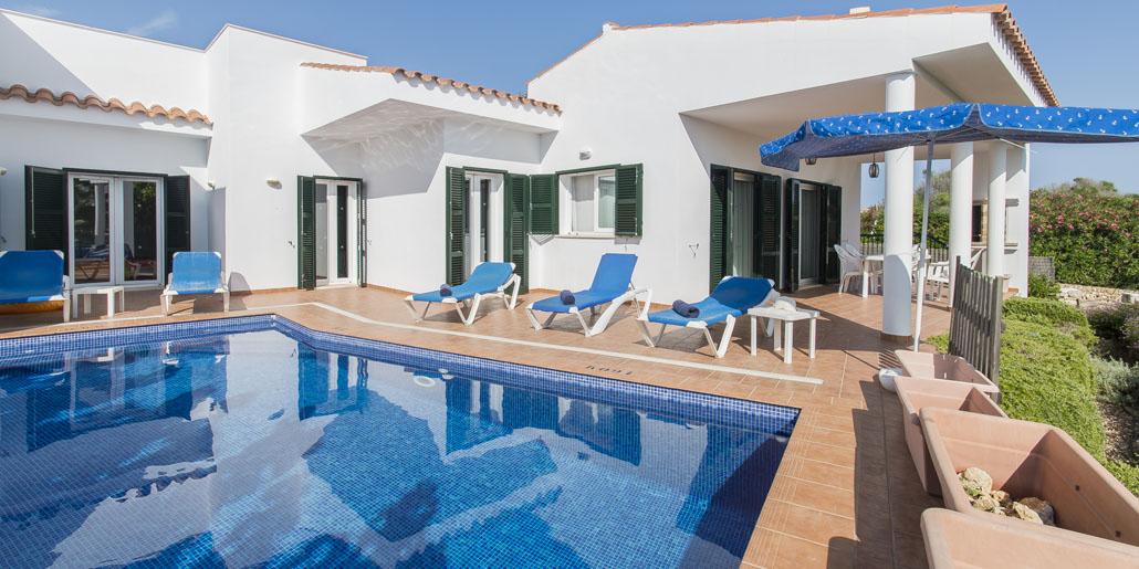 Private pool, Villa Eduard Binibeca