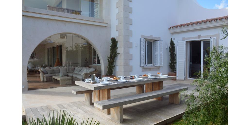 Outside dining, Villa Santana Es Castell