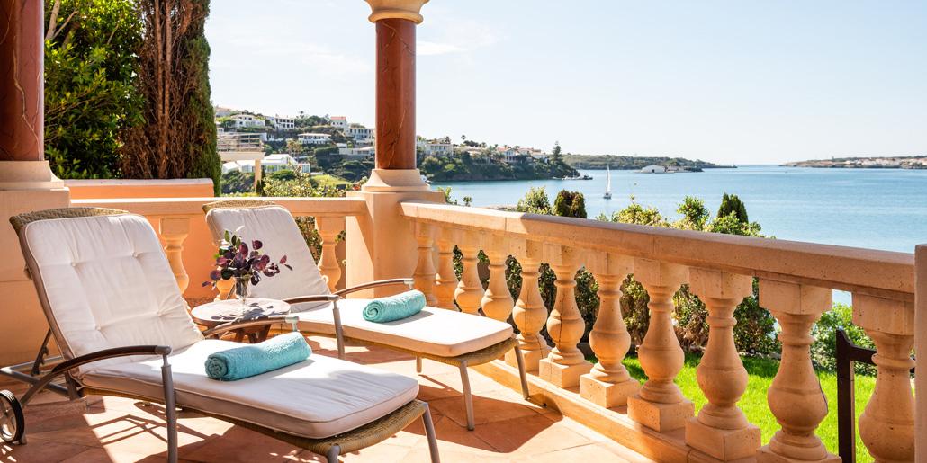 Terrace views, Far Post, Cala Llonga