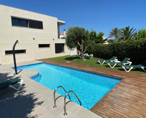 Pool & terrace, Villa Andreas Es Castell