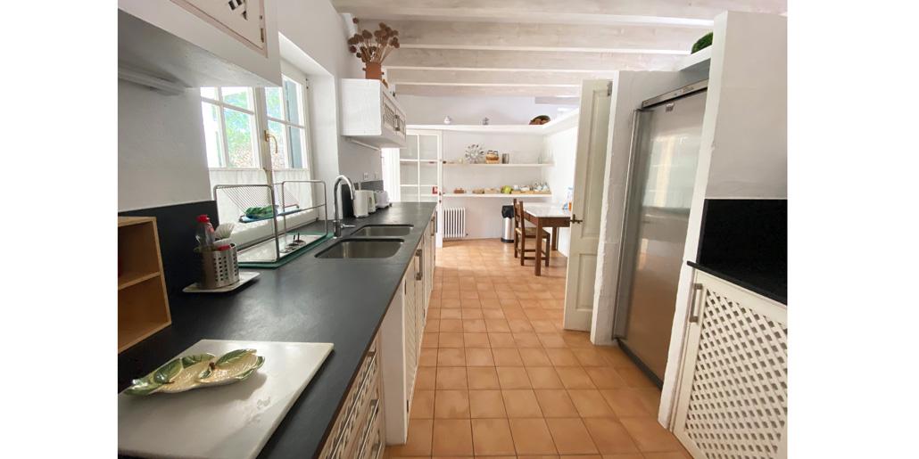 Main kitchen, Petit Torret