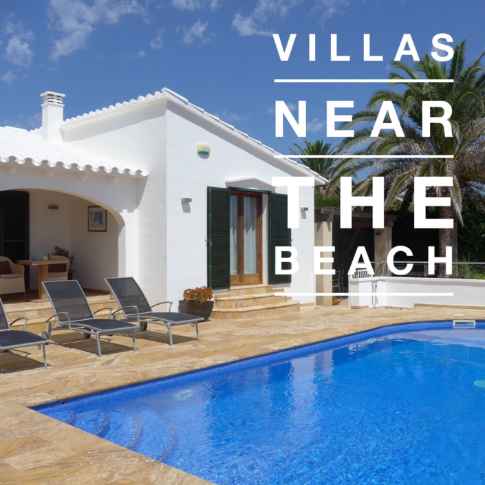 Menorca villas near the beach