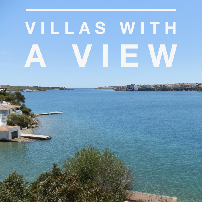 Menorca villas with a view