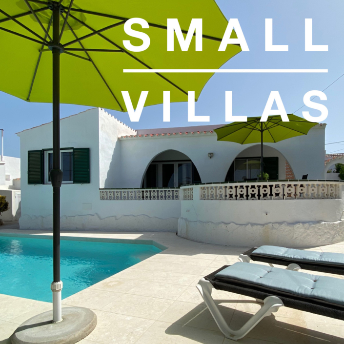 Smaller Menorca villas