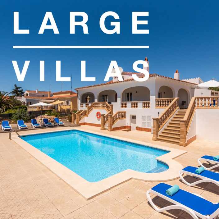 Large Menorca villas