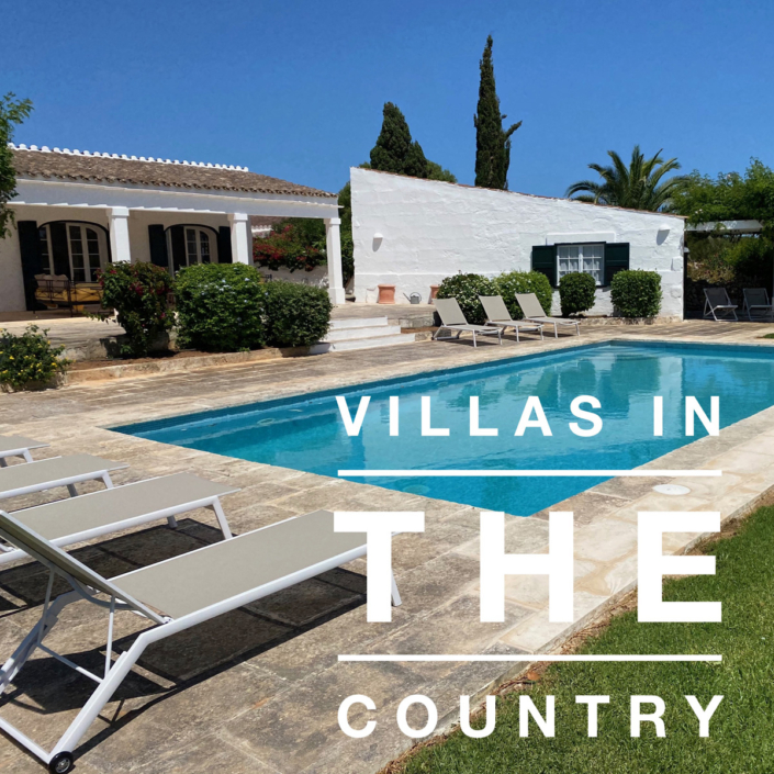 Menorca country villas