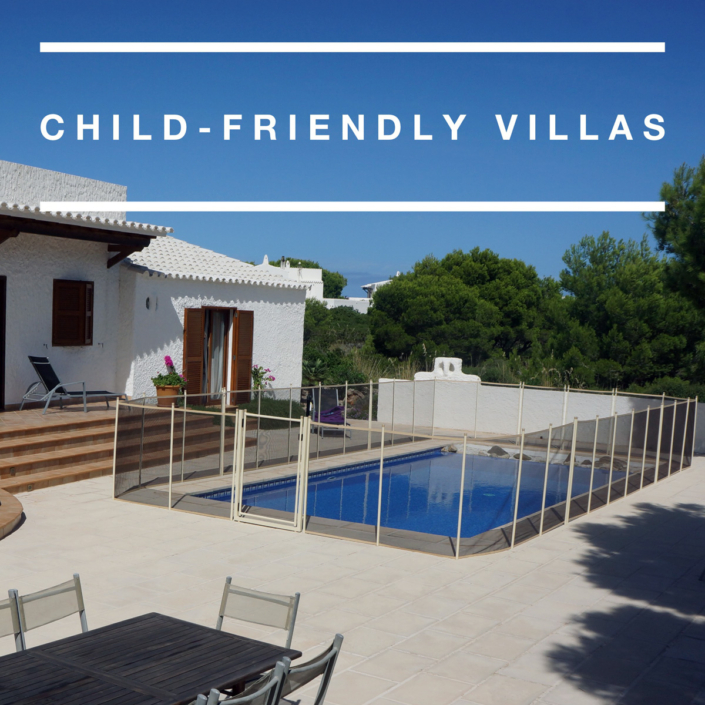 Child-friendly Menorca villas