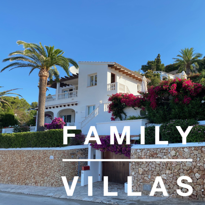 Family villas in Menorca