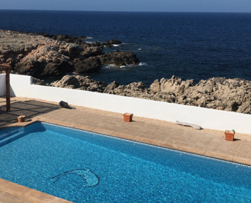 Private pool, Amberino Na Macaret