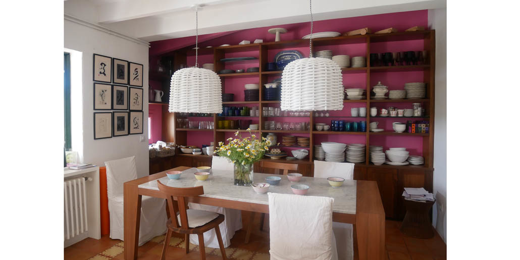 Dining room, Santa Ana, Sant Lluis