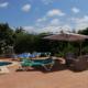 Pool terrace Casa Kym Trebaluger