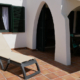 Terrace area Villa Tembwe, Cap d'en Font