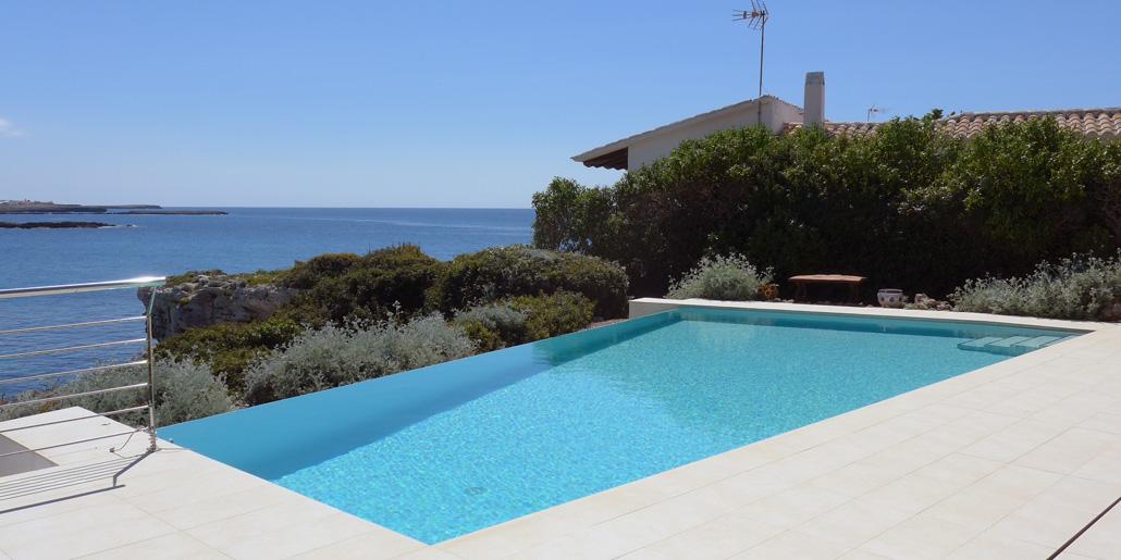 Pool terrace views, Sa Cova Negra, Cap d'en Font