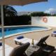 Pool terrace, Villa Leocadia Binibeca
