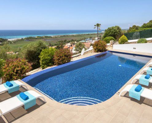Large pool, Villa Privilege Son Bou