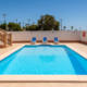 Private pool, Villa Rosa Punta Prima