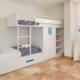 Bunk bedroom, Villa Rosa Punta Prima