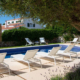 Private pool, Villa Hoedic Trebaluger