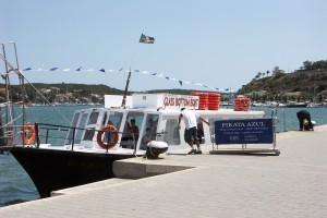 glass-bottom boat Menorca