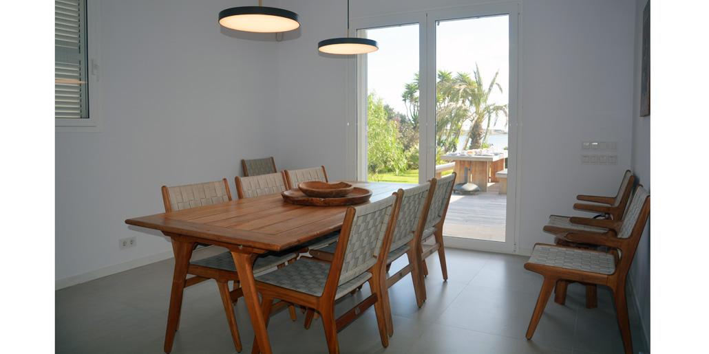 Dining area, Villa Santana Es Castell