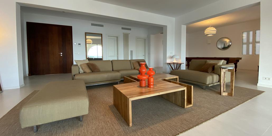 Living room, Villa Santana Es Castell