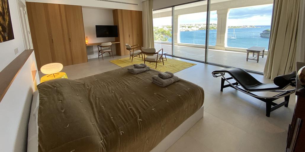 Master bedroom, Villa Santana Es Castell