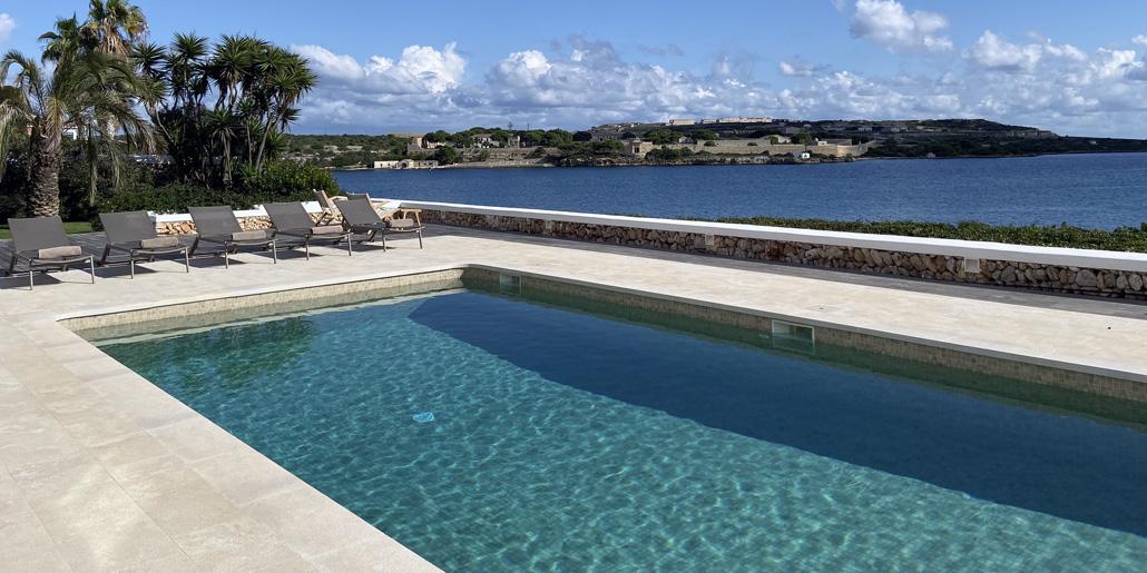 Pool views, Villa Santana Es Castell
