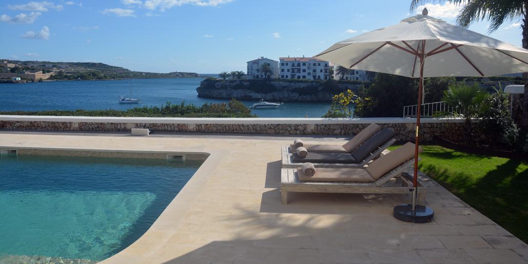 Pool terrace, Villa Santana Es Castell
