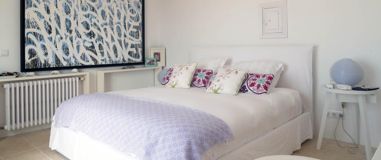 Master bedroom, Santa Ana, Sant Lluis