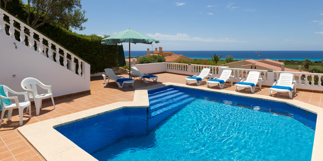 Bona Vista Four Bedroom Villa In Son Bou Menorca Holiday