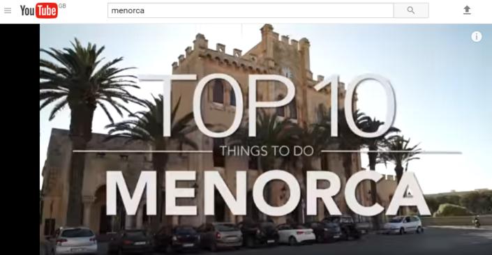 Top 10 Menorca