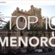 Top 10 Menorca