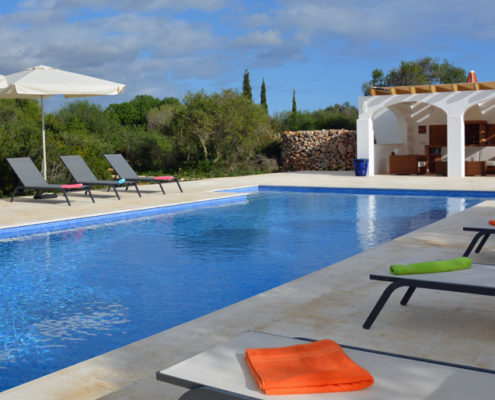 Large private pool VF015 Torret